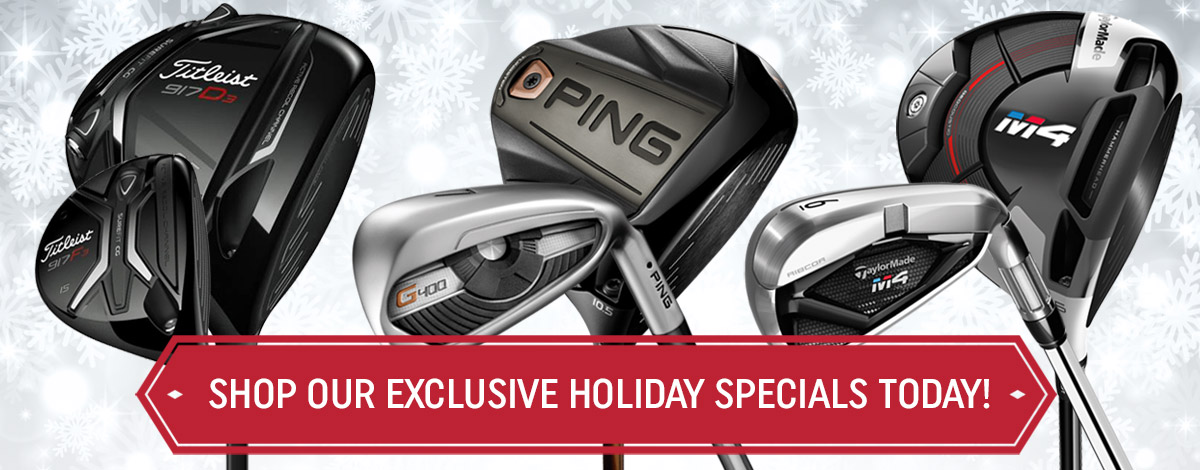 Exclusive Holiday Golf Specials!