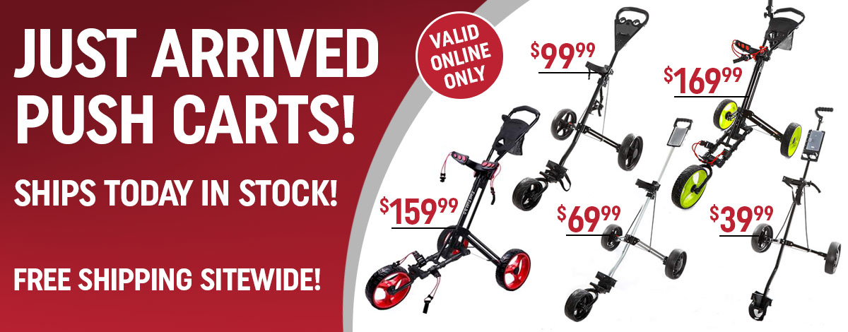 In Stock Push Carts