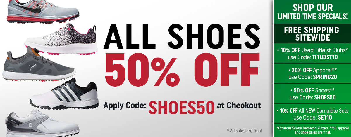 50 OFF Shoes