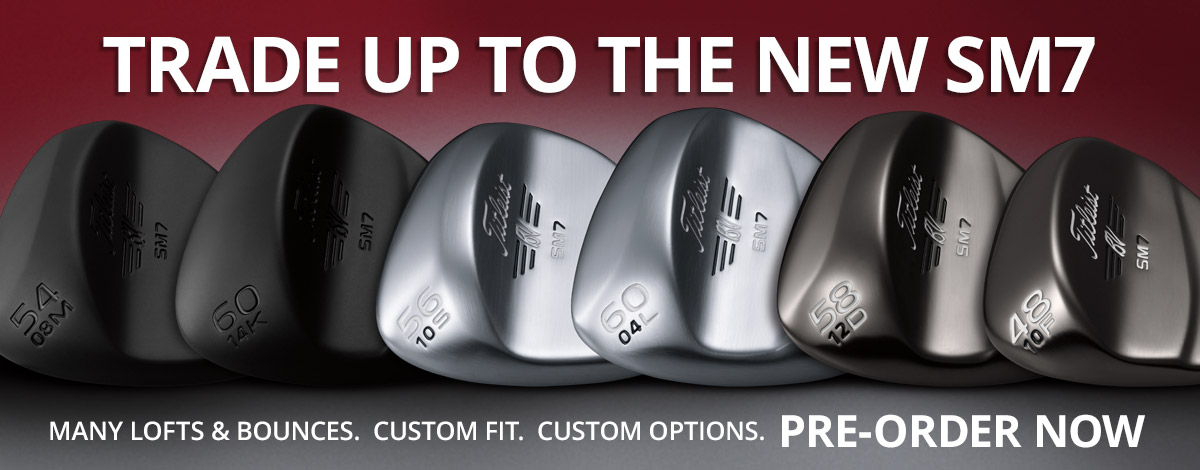 Order the new clubs from Titleist