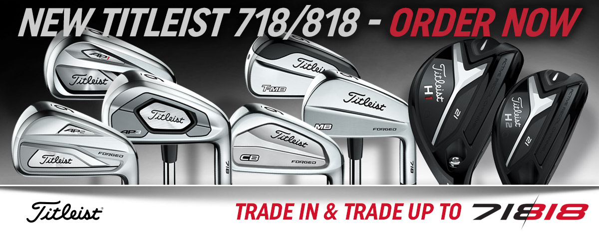 The New 718/818 Line from Titleist