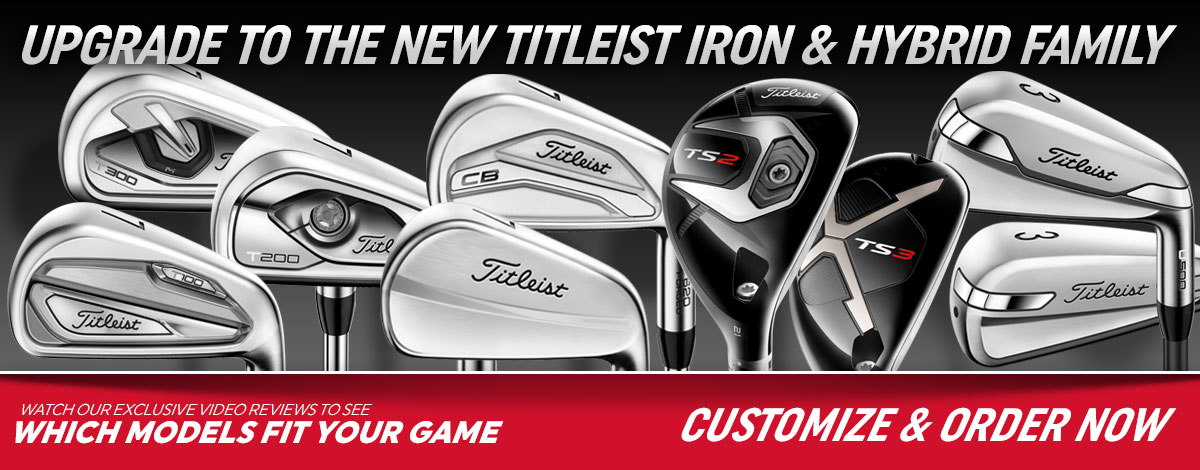 New Titleist T-Series Irons