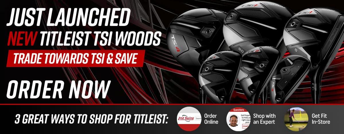 New Titleist Golf Clubs