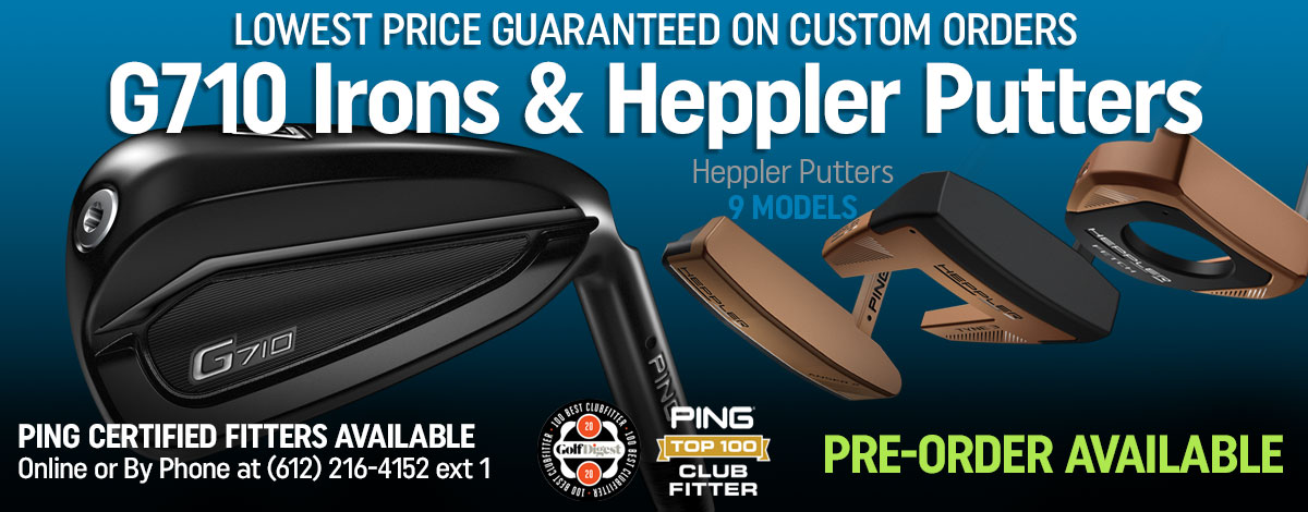 Get Fit for G710 & Heppler Putters