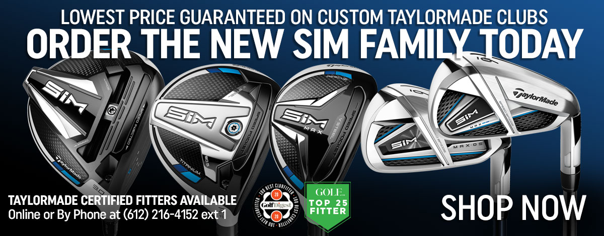 Order SIM from TaylorMade