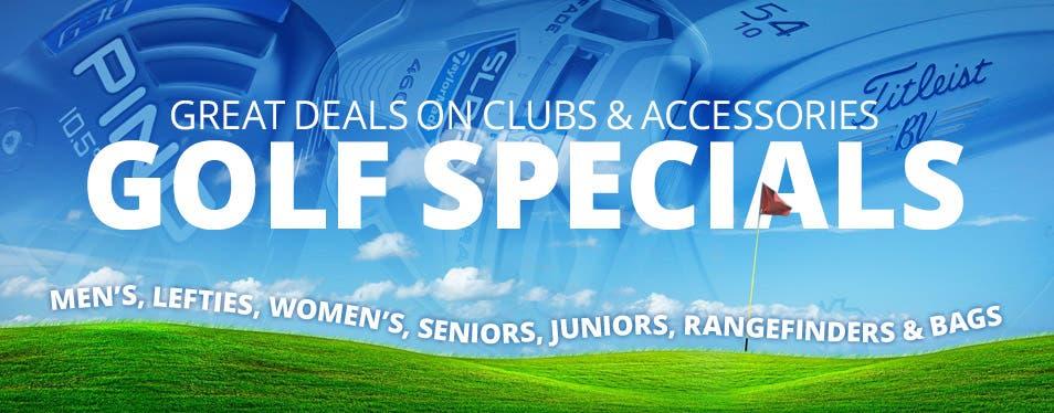 Summer Golf Specials